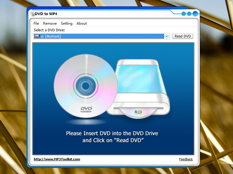 DVD to MP4 Screen shot