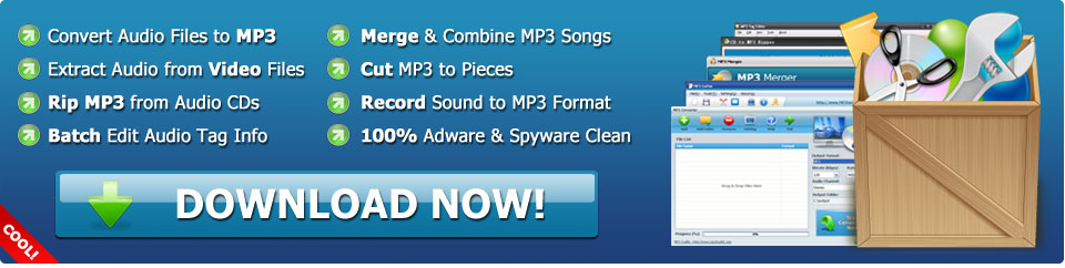 MP3 Toolkit - Convert, Rip, Merge, Cut & Record MP3 All-In-One