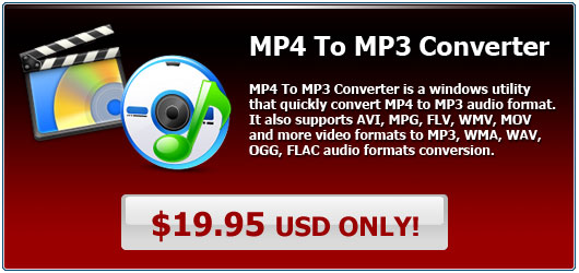 MP4 To MP3 Converter Discount